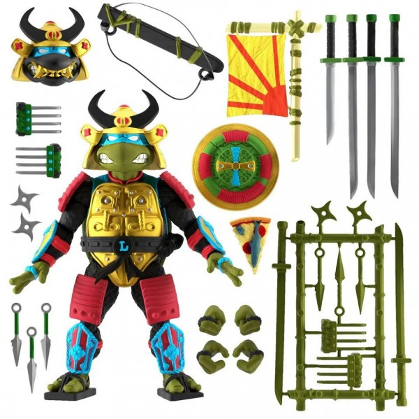 Teenage Mutant Ninja Turtles Ultimates Actionfigur Sewer Samurai Leonardo