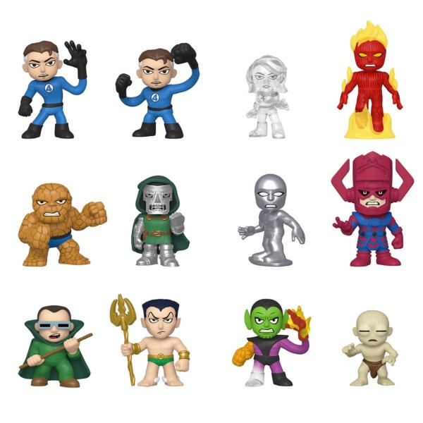 Fantastic Four Mystery Minis (12)