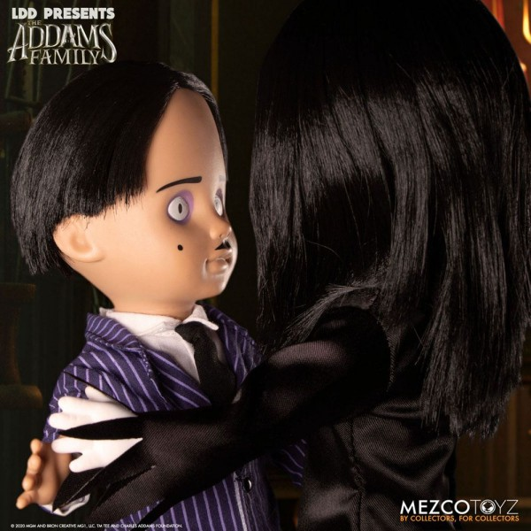 The Addams Family Living Dead Dolls Puppen Gomez & Morticia (2-Pack)
