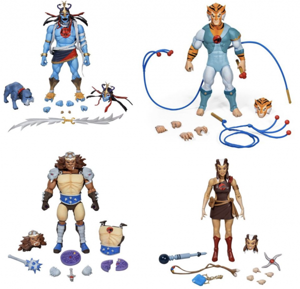 Thundercats Ultimate Actionfiguren-Set Wave 2 (4)