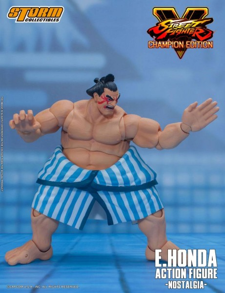 Street Fighter V Champion Edition Actionfigur 1/12 E. Honda (Nostalgia Costume)