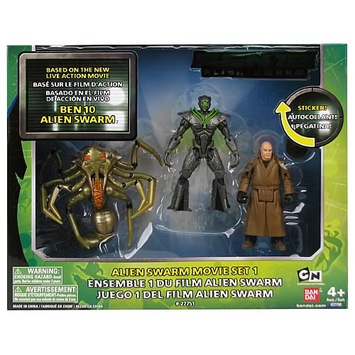 Ben 10 Collection Alien Swarm Figuren-3-Pack