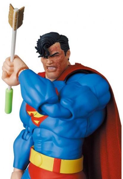Batman The Dark Knight Returns MAF EX Actionfigur Superman