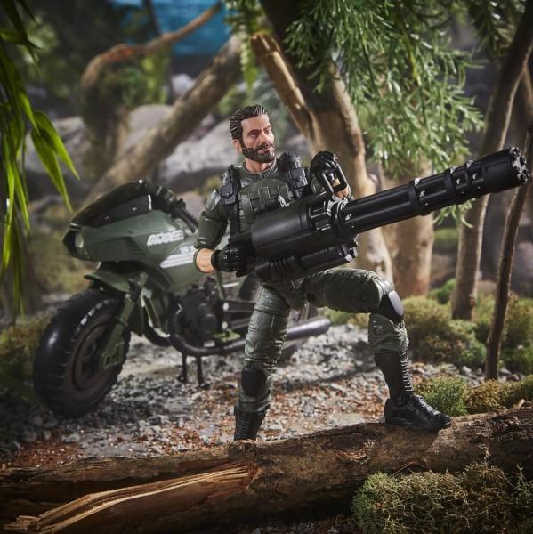G.I. Joe Classified Series Actionfiguren-Set 15 cm Cobra Island Alvin 'Breaker' Kibbey & Ram Cycle