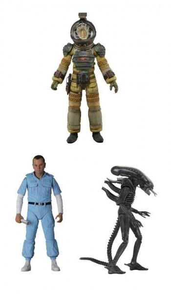 Alien 40th Anniversary Actionfiguren-Set Serie 3 (3)