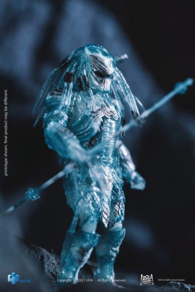 Alien vs. Predator Actionfigur 1/18 Scar Predator (Active Camouflage) Exclusive