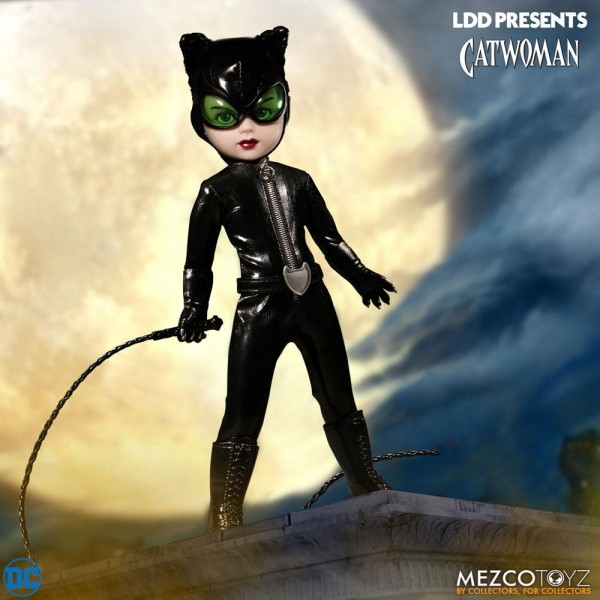 DC Universe Living Dead Dolls Puppe Catwoman