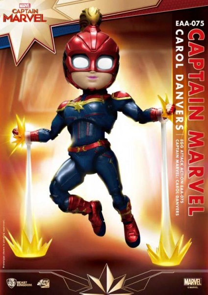 Captain Marvel 'Egg Attack Action' Figur Carol Danvers