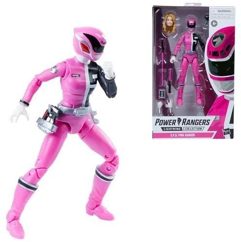 Power Rangers Lightning Collection Actionfigur 15 cm SPD Pink Ranger