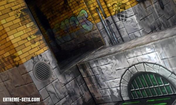 Extreme Sets Pop-Up Diorama Animated Sewer Set 1/12
