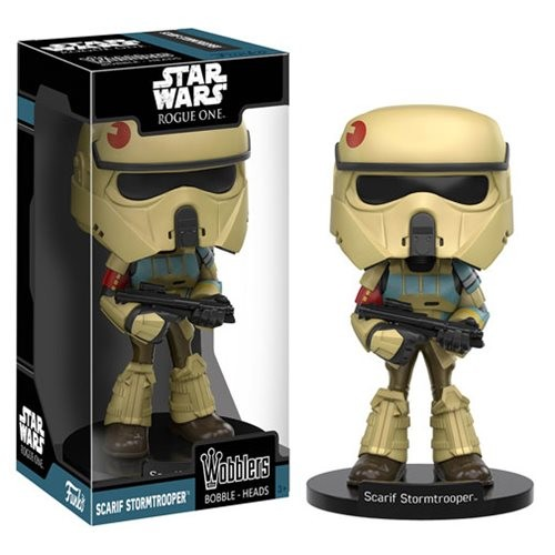 Star Wars Rogue One Wacky Wobblers Wackelkopf Scarif Stormtrooper