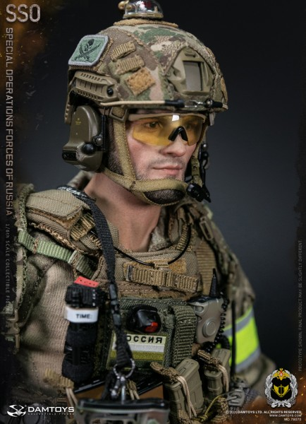 DAMTOYS Actionfigur 1/6 Special Operation Forces of Russia (SSO)
